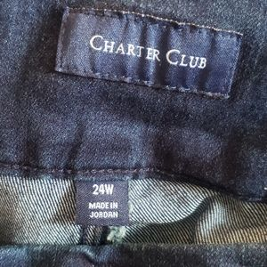 Charter Club Jeans - Charter Club Cambridge Pull-on Slim Jeans